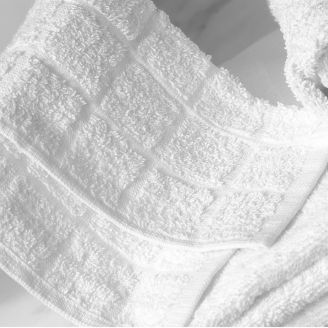 Plaid Weave Facecloth
