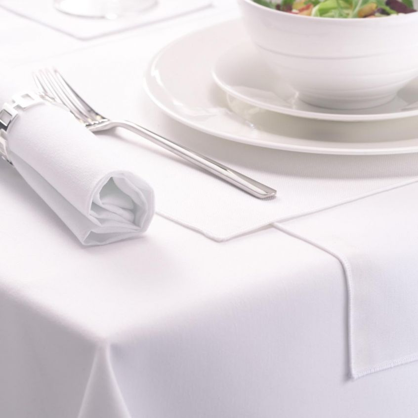 Large White Tablecloths In Round, White Tablecloth Round 1080p