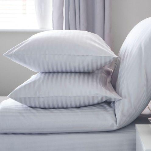 Belledorm Satin Stripe Pillowcases