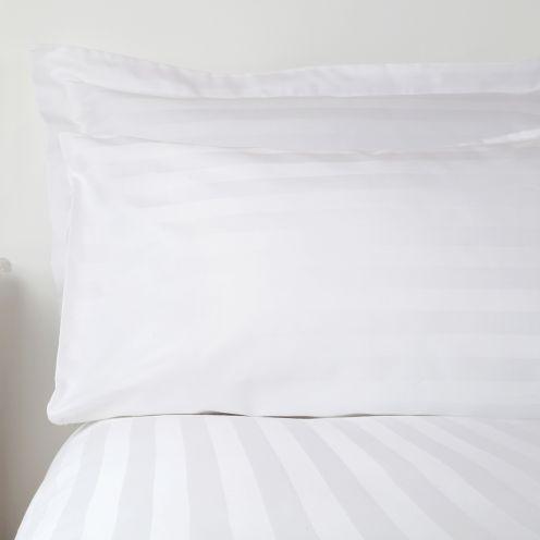 Prima Satin Stripe Pillowcases