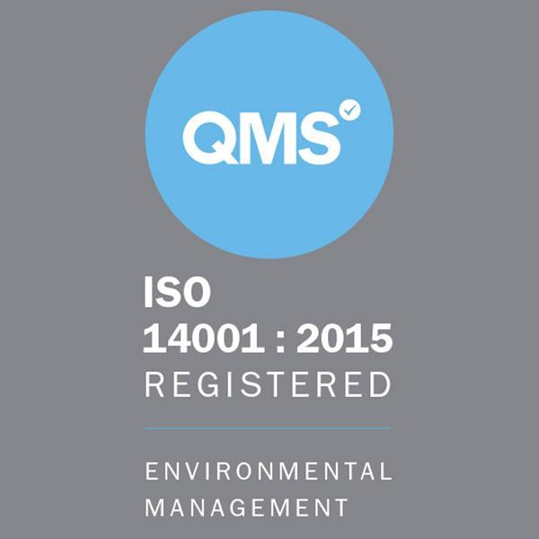 Richard Haworth awarded ISO 14001 accreditation
