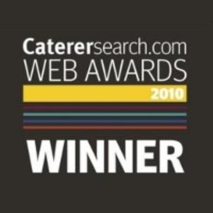 Richard Haworth wins Caterersearch.com Web Award